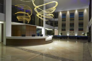 Melia Dunas Resort Lobby Reception