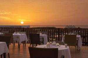 Melia Llana Beach Resort Dining Terrace